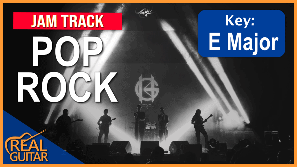 Pop Rock Backing Track