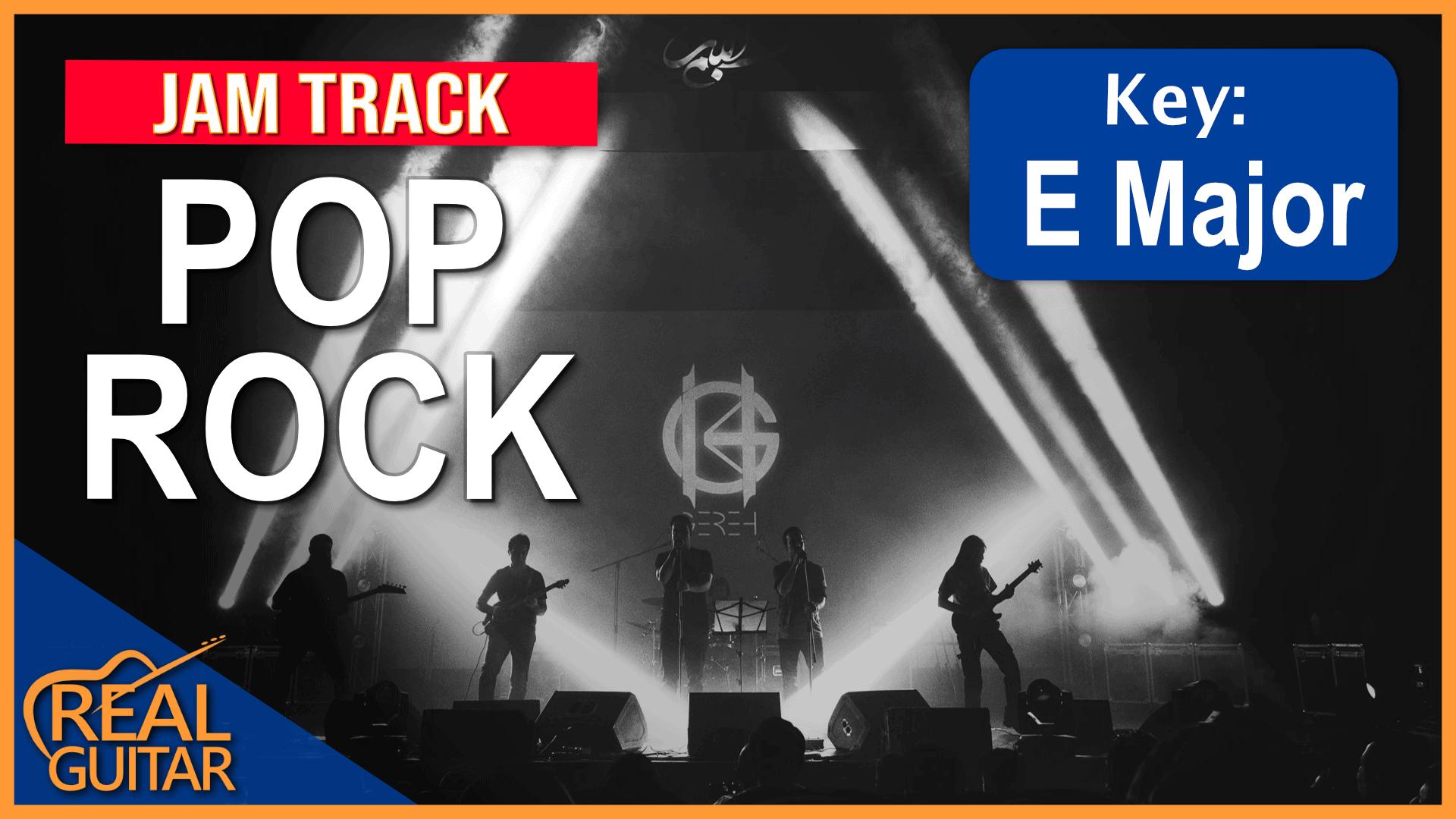 Pop Rock Backing Track