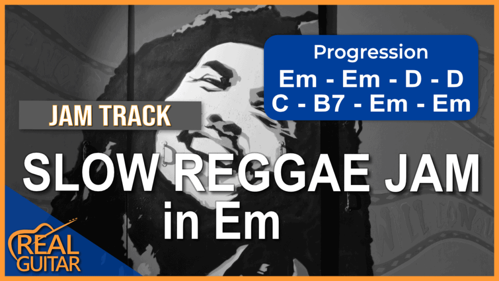 Backing Track E Minor Reggae