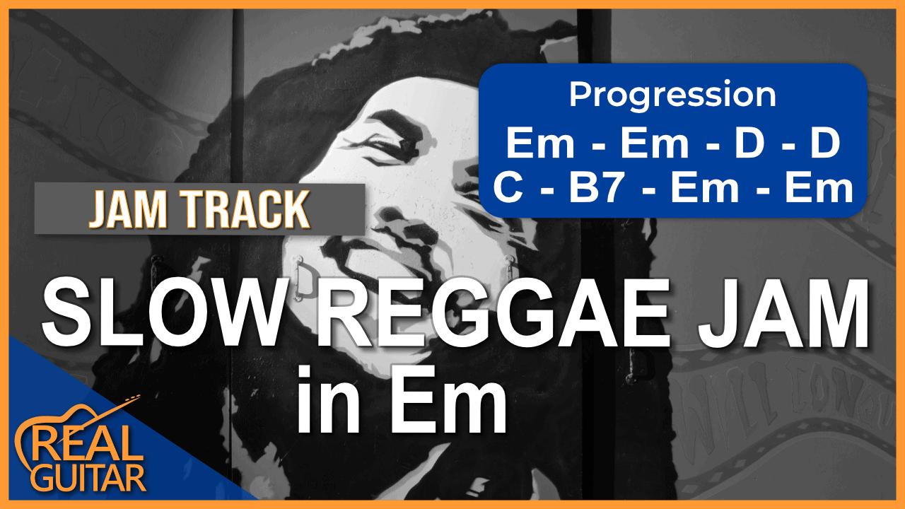 Backing Track E Minor Reggae