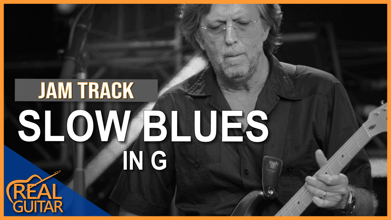 Slow Acoustic Blues Backing Track in G