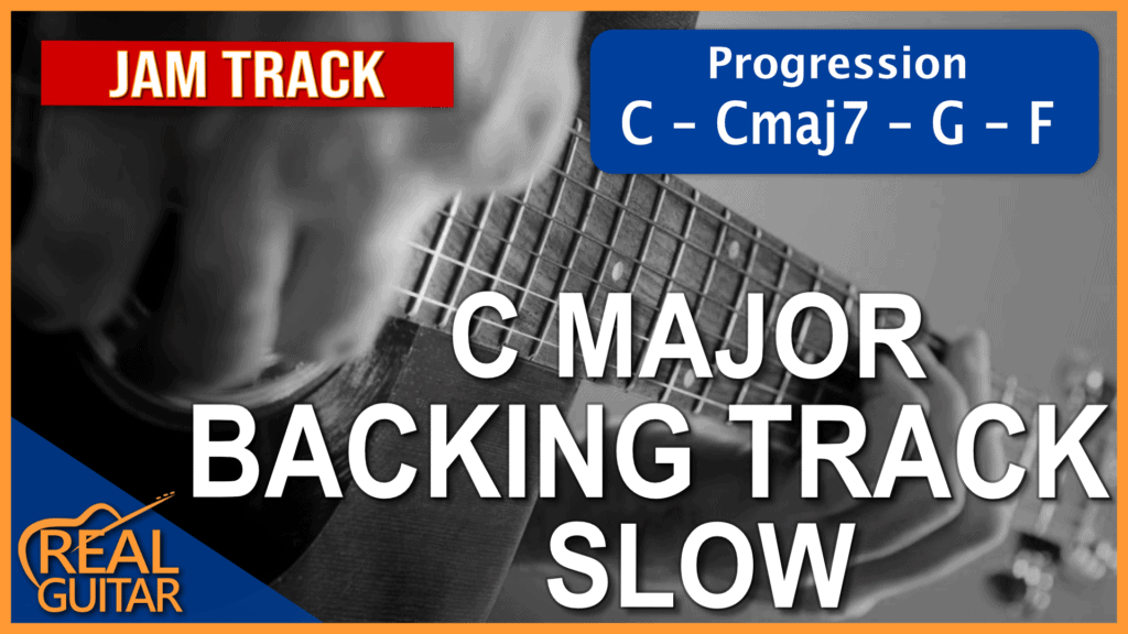 C Major Backing Track Slow