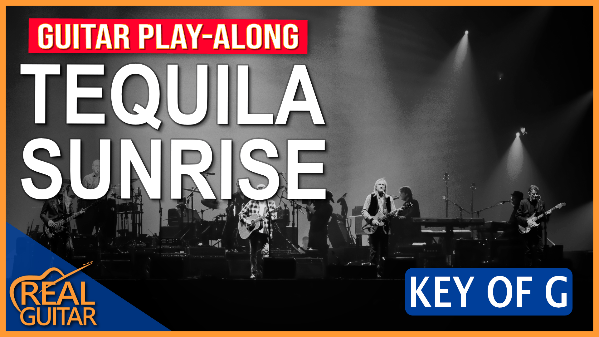TEQUILA SUNRISE GUITAR PLAY-ALONG