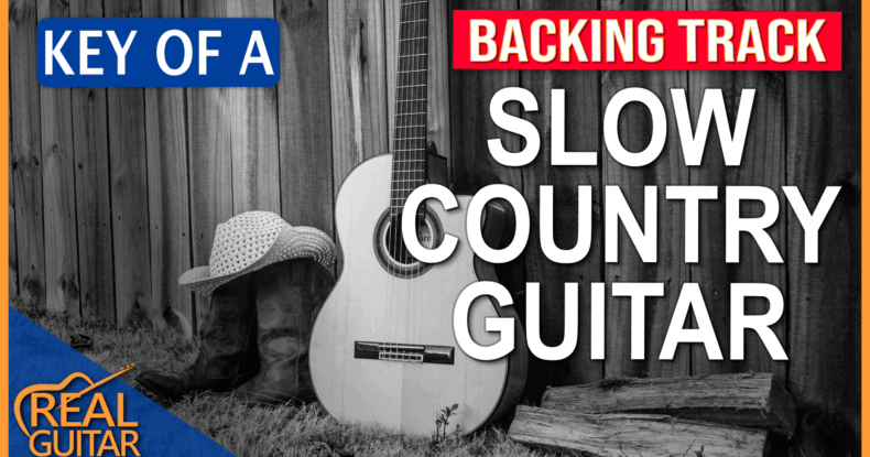 Slow Country Guitar Backing Track