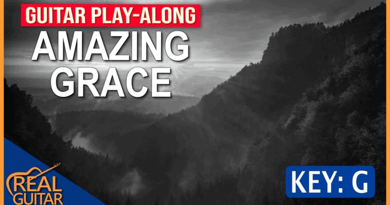 Amazing Grace Backing Track | Guitar