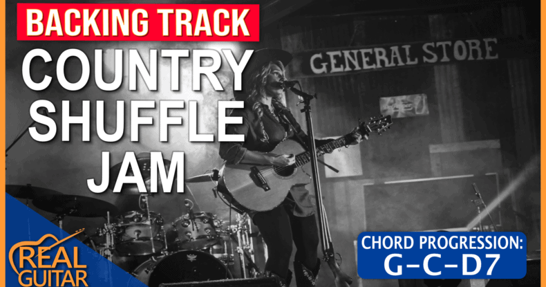 Country Shuffle Backing Track